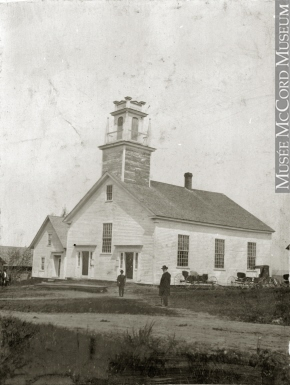 Baptist church, Barnston, QC, 