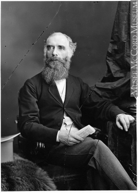 Photograph | Donald Smith, later Lord Strathcona, Montreal, QC, 1871 | I-66959